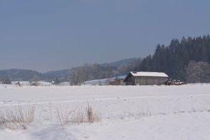 Unterwegs im Winterwunderland bei Habach
