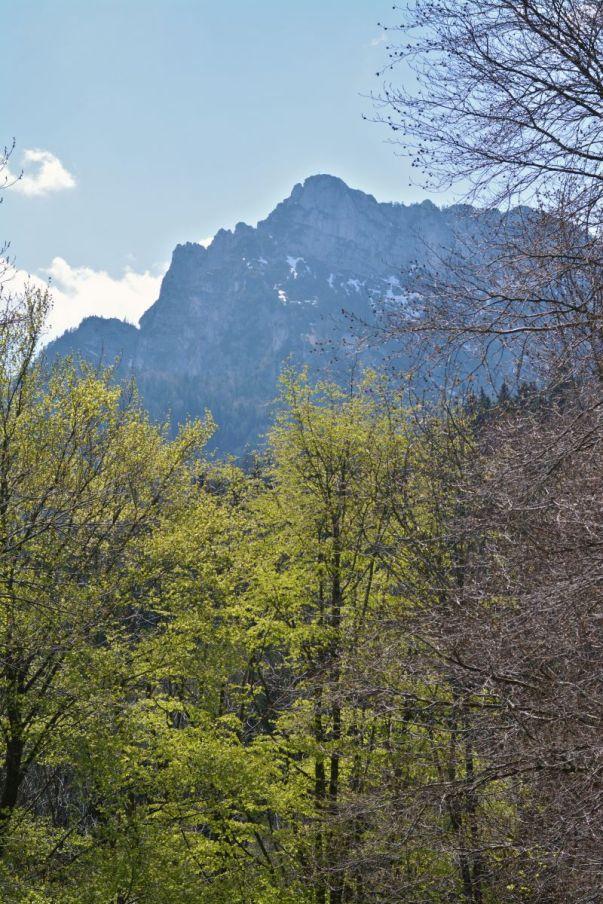 Die umgebenden Gipfel rücken auch schon näher