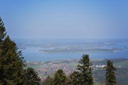 Blick zum Chiemsee vom Adersberg