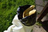 Zu Testzwecken mal eine Bananenschale eingetütet ;-)