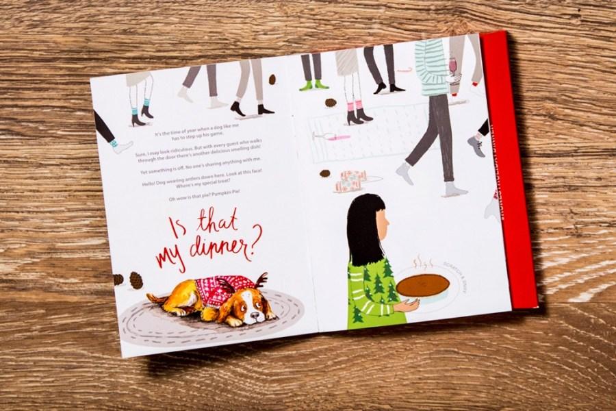 """IS THAT MY DINNER? A Holiday Scratch & Sniff Story"" von The Honest Kitchen (umgesetzt von  Red Tettemer O'Connell + Partners )"