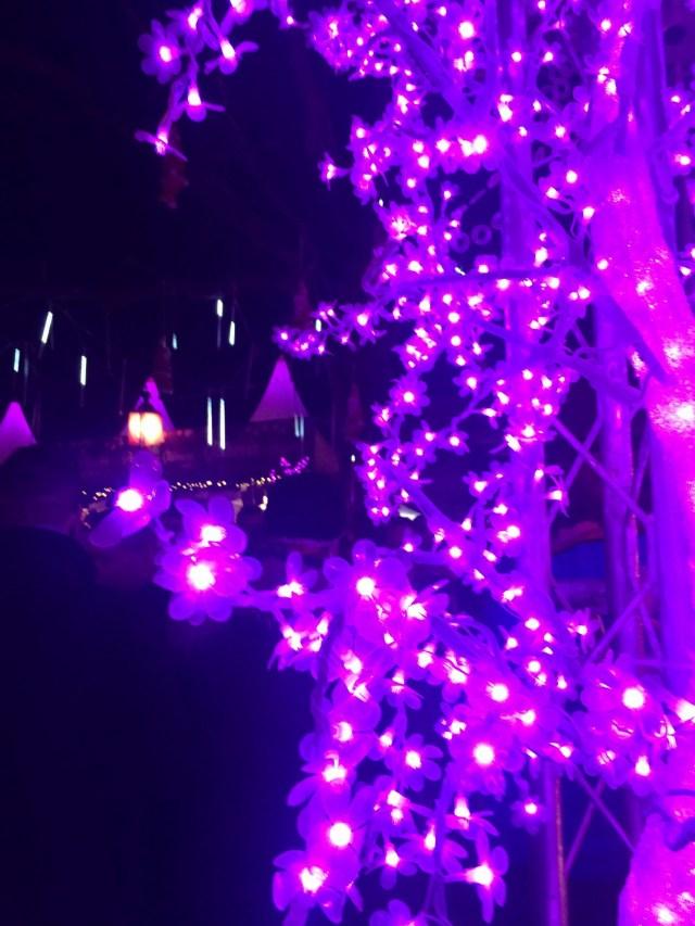 Weihnachtsmarkt in Pink