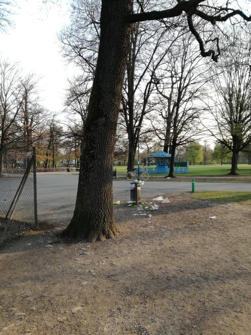 Parkleben Muenchen Sommer