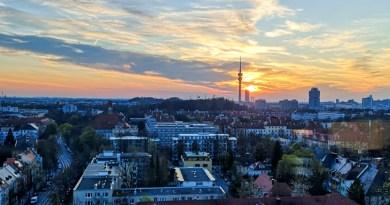 Ausblick über München