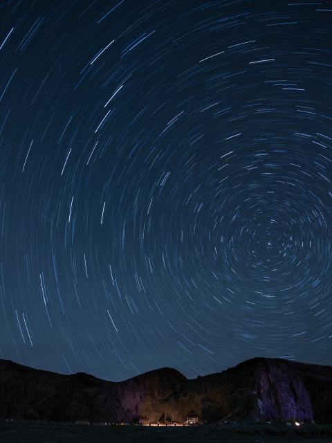 timelapse-photography-of-stars-at-night-169789
