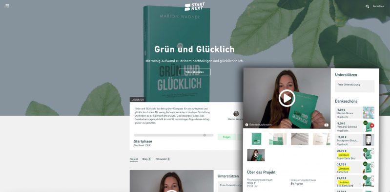 Grün und Glücklich Crowdfunding