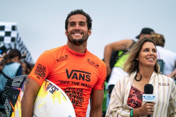 Ramzi Boukhiam de Marruecos podría estar sonriendo hasta Tokio 2020 al obtener provisionalmente el cupo continental por África. Foto: ISA / Sean Evans