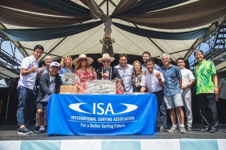 Celebrando la unión de 55 países a través de las arenas del mundo. Foto: ISA / Pablo Jimenez
