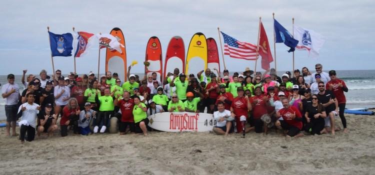 AmpSurf ha traído más de 16 años de experiencia en Surfing Adaptado para formar una fuerte alianza para el Campeonato Mundial. Foto: AmpSurf