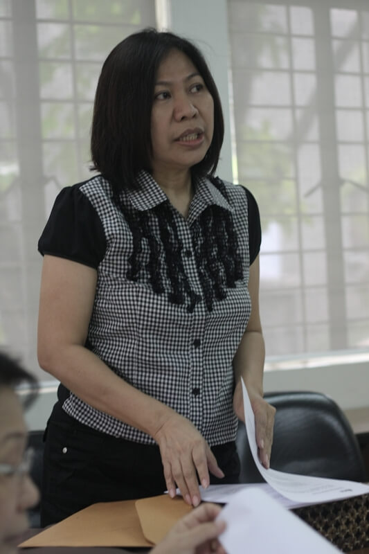 WFTO-Asia Executive Director Ramona Ramos proposes the holding of a regional conference showcasing social entrepreneurship models in Asia next year.