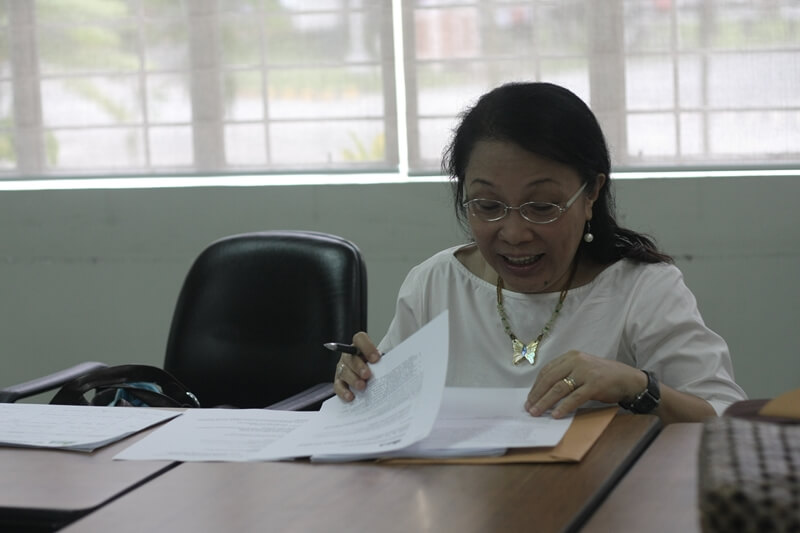 Executive Director Lurina Gargarita represents PhilSEN during the ISEA GA.