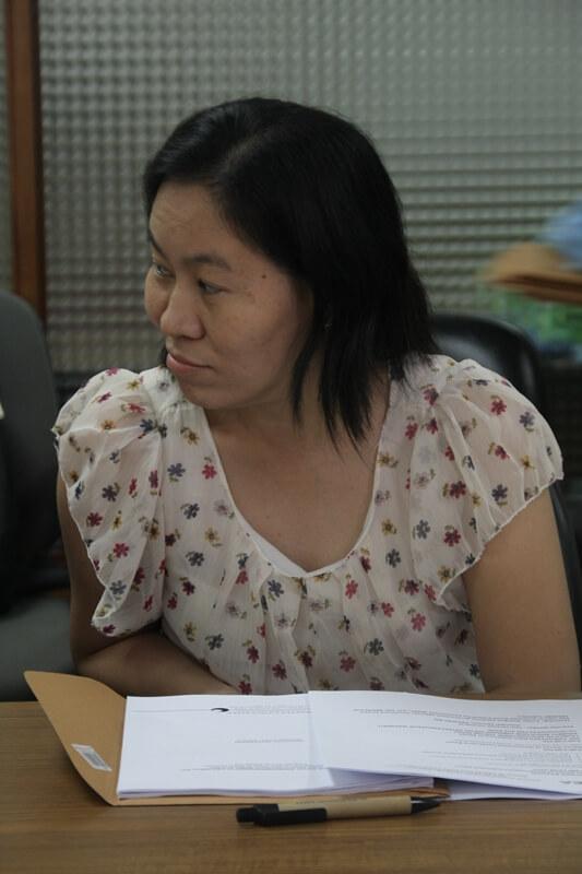 Ms. Mercy Rosetes, Program Coordinator of the Business in Development (BID) Challenge, represents PBSP at the ISEA GA