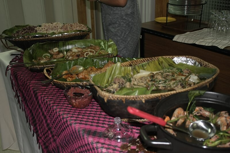 Healthy Lunch and Merienda during the GA is catered by Dok Susan's Kitchen Clinic