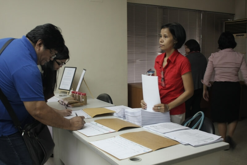 Alter Trade Foundation Inc (ATFI) Executive Director Edwin Lopez registers their participation and support for the Magna Carta for Social Enterprises.