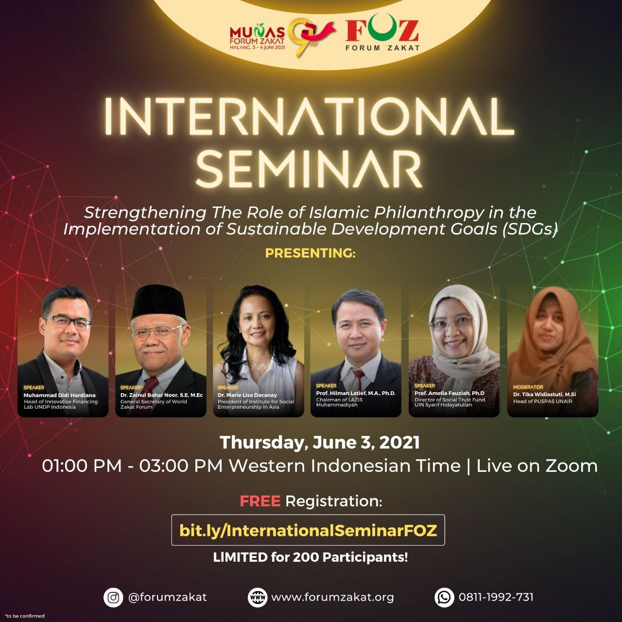 ISEA joins the International Seminar organized by Forum Zakat Indonesia