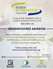 EcoEco Alternativas 2014 - Presente un resumen