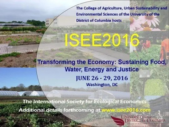 Save the Date | 26-29 June 2016 | Transforming the Economy