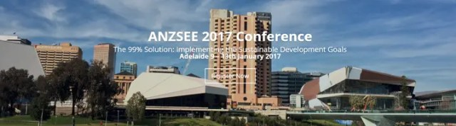 ANZSEE 2017 Conference
