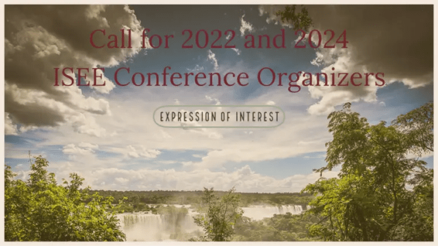 Call for future ISEE Conference Organizers