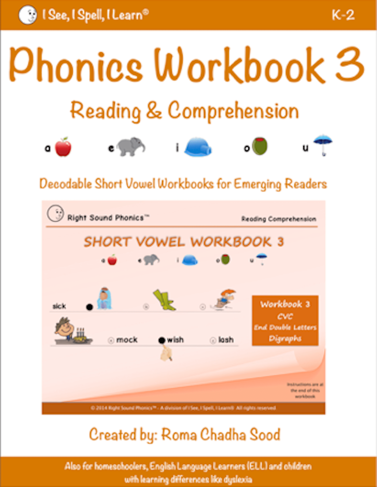 Phonics Amp Short Vowel Eworkbook 3