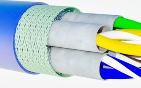 Tipos de cables de par trenzado