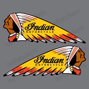 BM-12032-RY-Indian-Motorcycle-War-Bonnet-Gas-Tank-Pair-Decal-Sticker