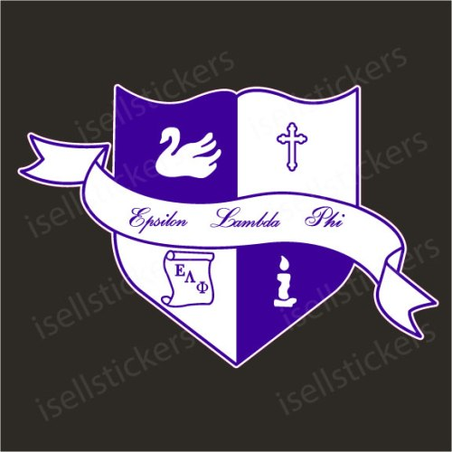 Lee University Epsilon Lambda Phi Crest Decal Sticker