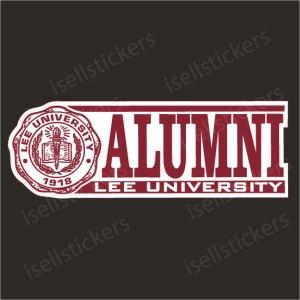 Lee University Decals
