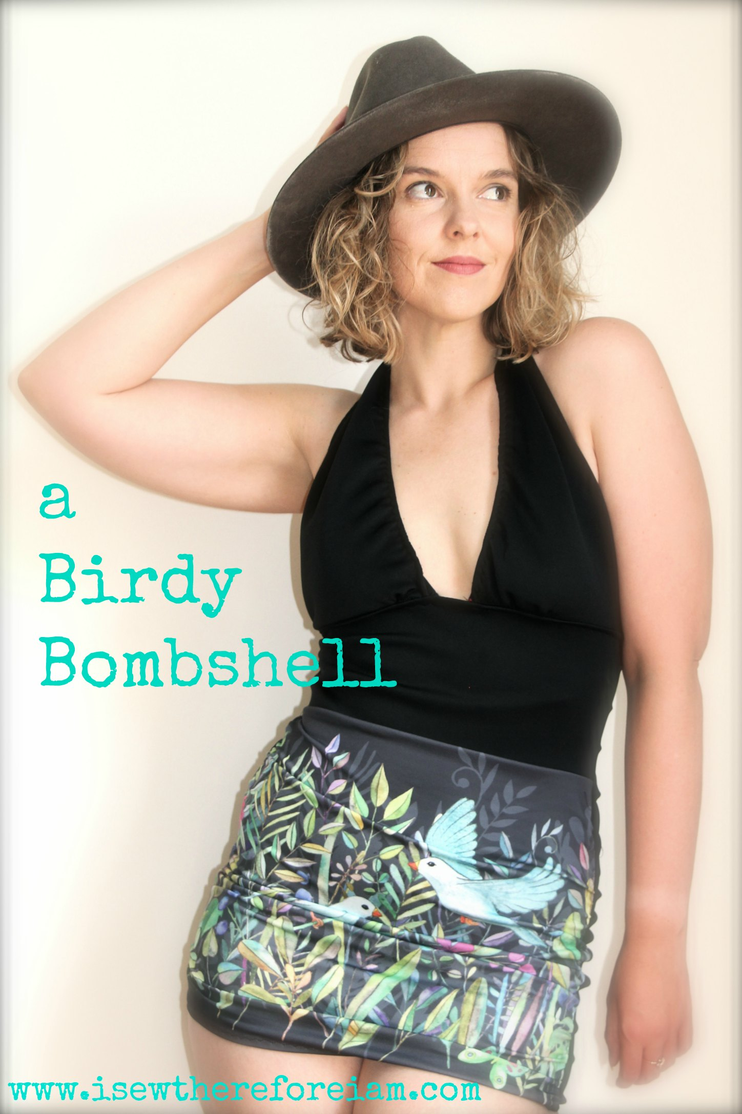Check out this blog about sewing the Bombshell Swimsuit, including some tips for those with a small bust