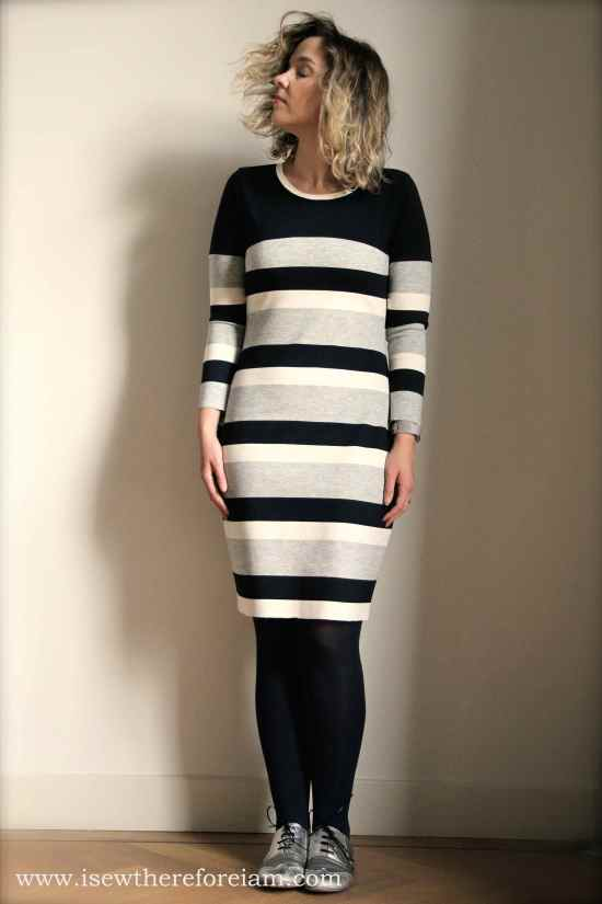 Knit bodycontour Givre dress from Deer and Doe