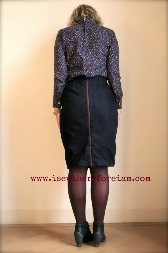 The Fatale Sister Pencil Skirt by Vanessa Pouzet