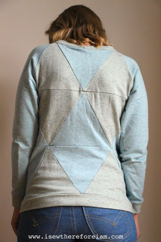 Geodesic sweater by Blueprints for sewing