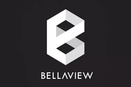 BELLA Logo White