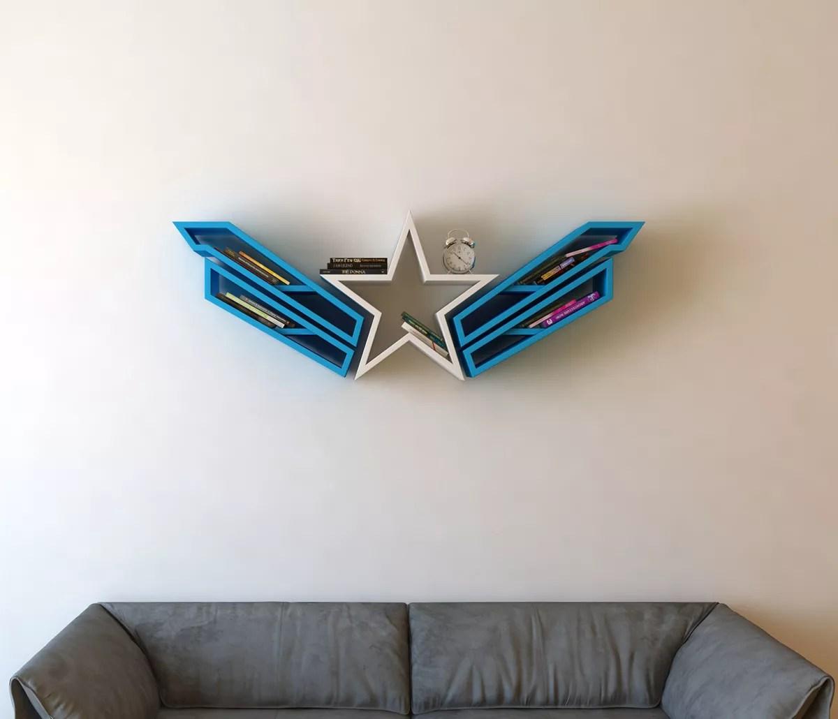 Captain America Book Shelf idea