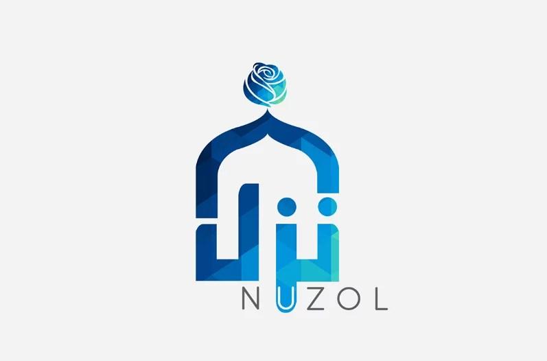 islamic Arabic Calligraphy logo design example 9