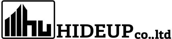 「ハイドアップ ロゴ」の画像検索結果