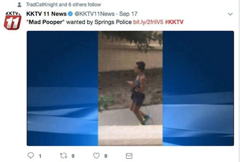 'Mad Pooper' Story Weird As Hell