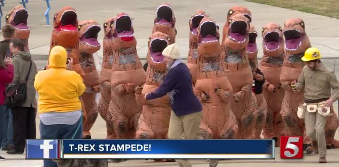 T. Rex Stampede Through Nashville
