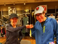 With Deena Kastor, near Nashville, October 12, 2019