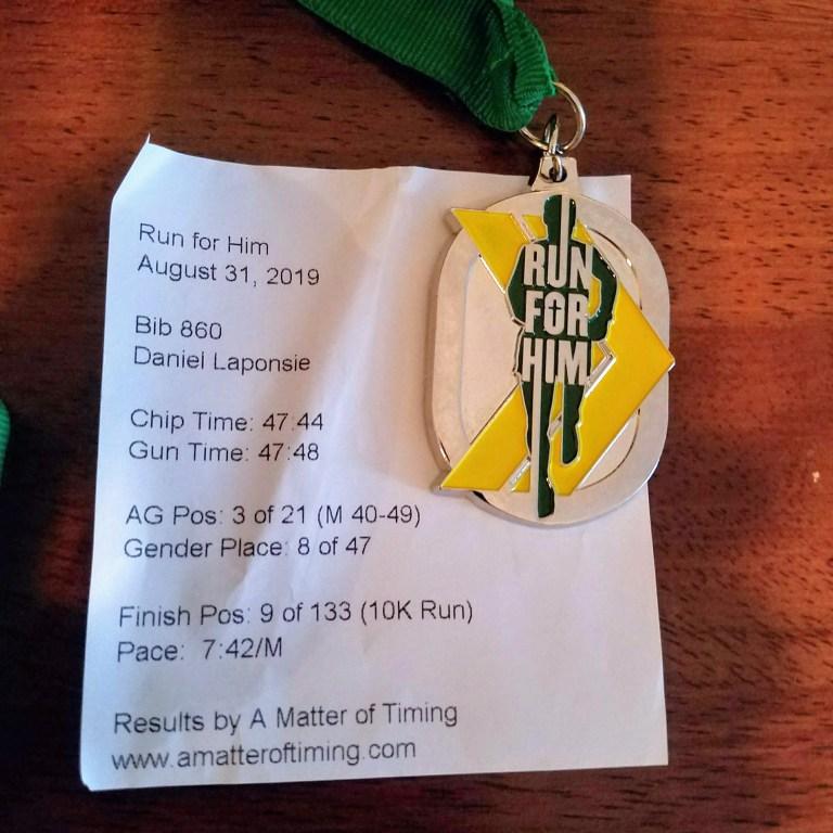 Nashville Marathon update: 8 weeks to go! [journal entry]
