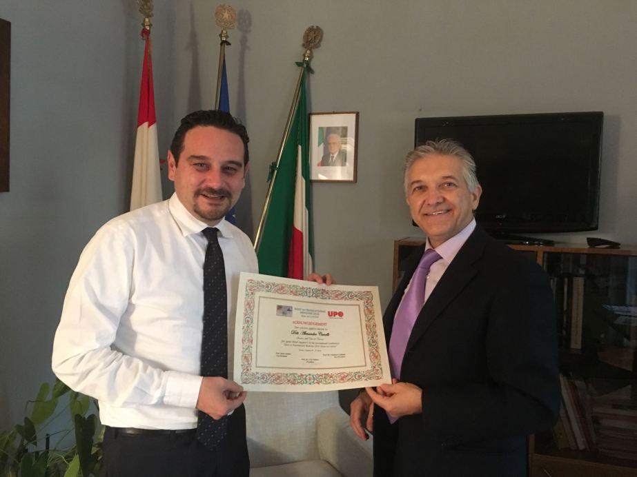 Ciro Isidoro e Alessandro Canelli