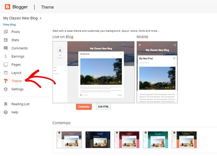add-blogger-themes
