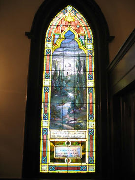 Window in Brownsville Sanctuary