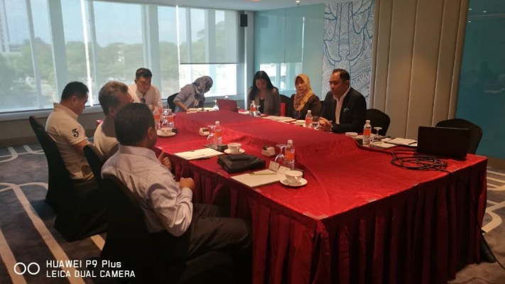 Meeting discussion with team from IHP-UMLand led by Mr Lokman (CEO) & team