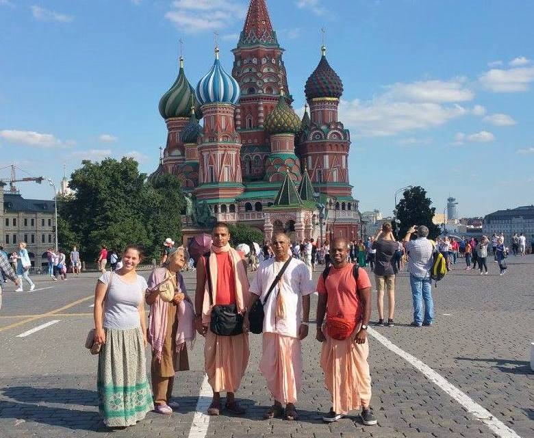 Sri Krishna Mandir Sets Foot in Russia