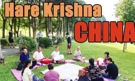 Outdoor Kirtana in China