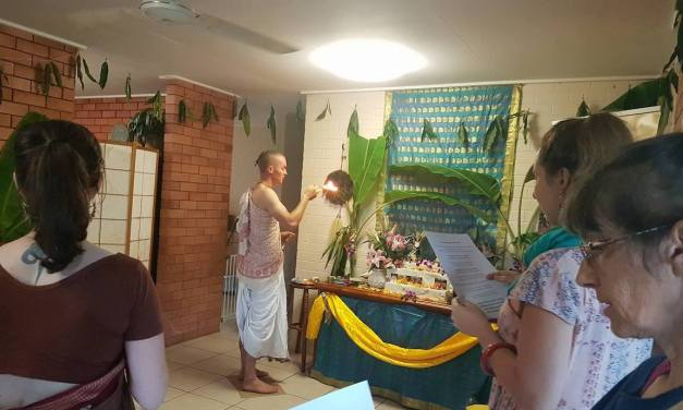 Gaura Purnima 2017 Celebrations at ISKM Australia