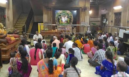 Chennai Hanuman Temple Devotees Get Serious About Krishna Consciousness