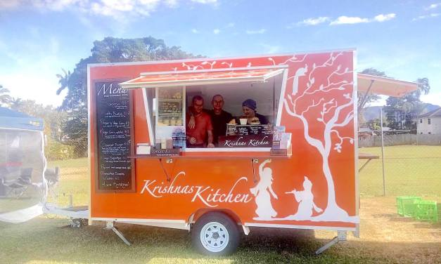 Krishna's Kitchen Australia Back on the Road