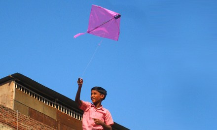 Kite-player on an Unwalled Roof